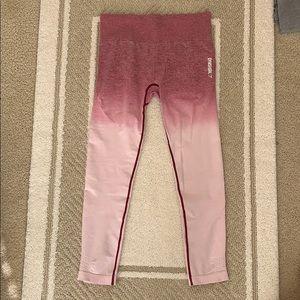 Gymshark pink ombré leggings